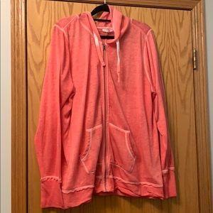 Maurices zip up hoodie - color color - size 2